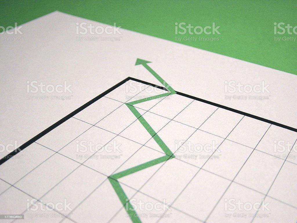 chart  positive royalty-free stock photo