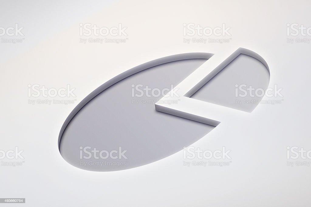 Chart Symbol stock photo