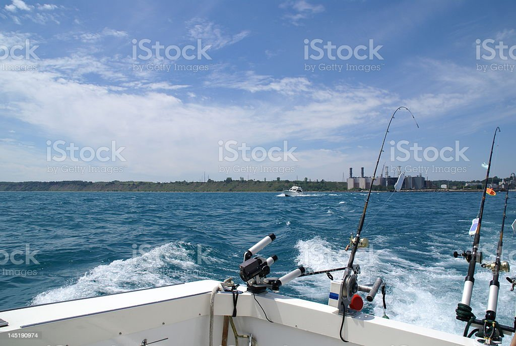 Charter Fishing royalty-free stock photo