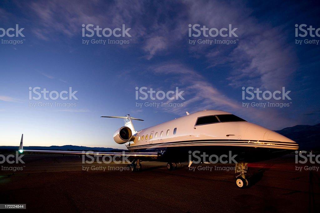 Charter Jet-1 stock photo