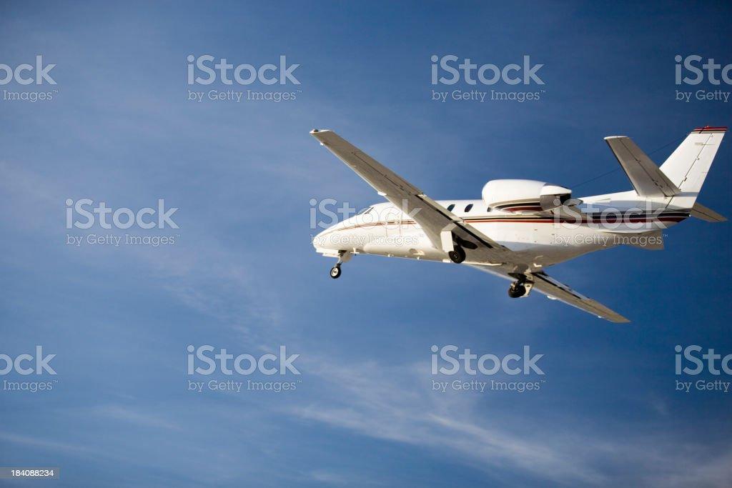 Charter Jet-19 stock photo