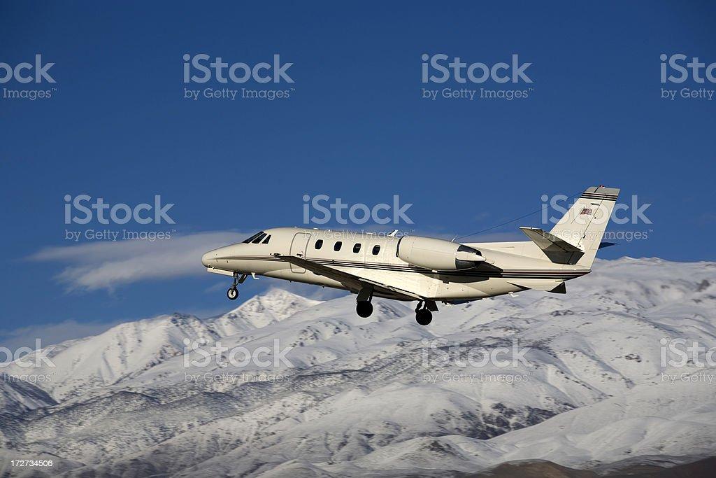 Charter Jet-2 stock photo
