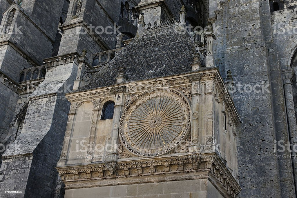Chartres Cathedral Astronomical Clock 00 stock photo