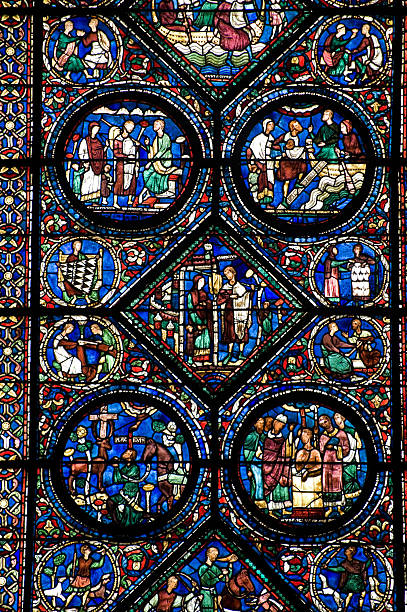 Chartres Cathedral Interior Pictures Images And Stock Photos Istock