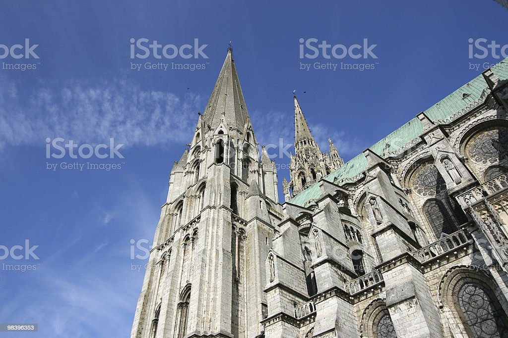 Chartres stock photo