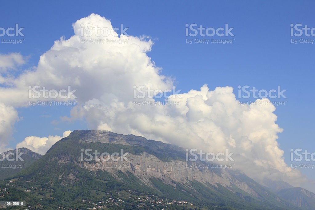 Chartreuse Mountain Range stock photo