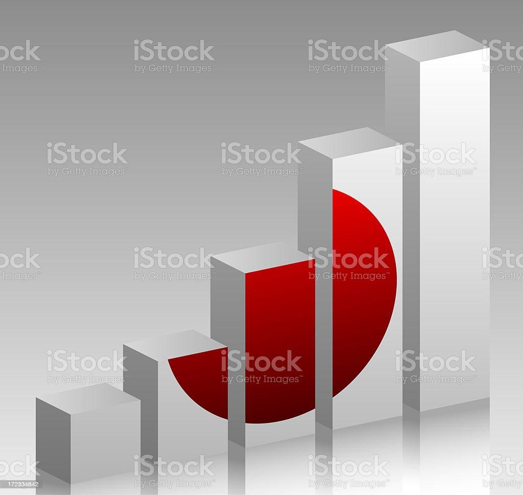 Charts: Japan Grows stock photo