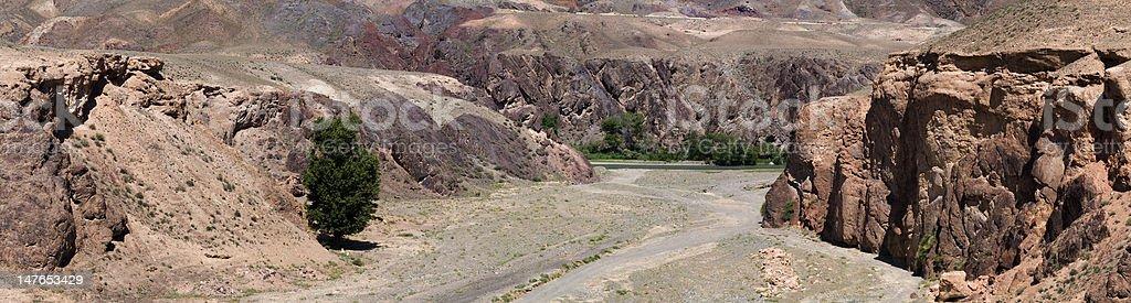 Charyn River And Canyon / Kazakhstan royalty-free stock photo