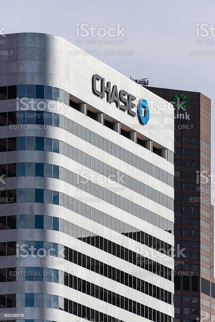 Chase Bank stock photo