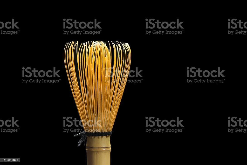 Chasen or a bamboo matcha whisk royalty-free stock photo