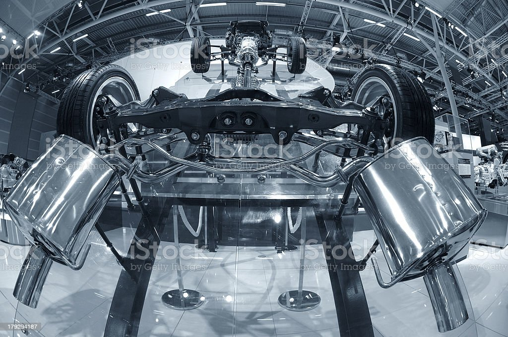 Chassis concept stock photo