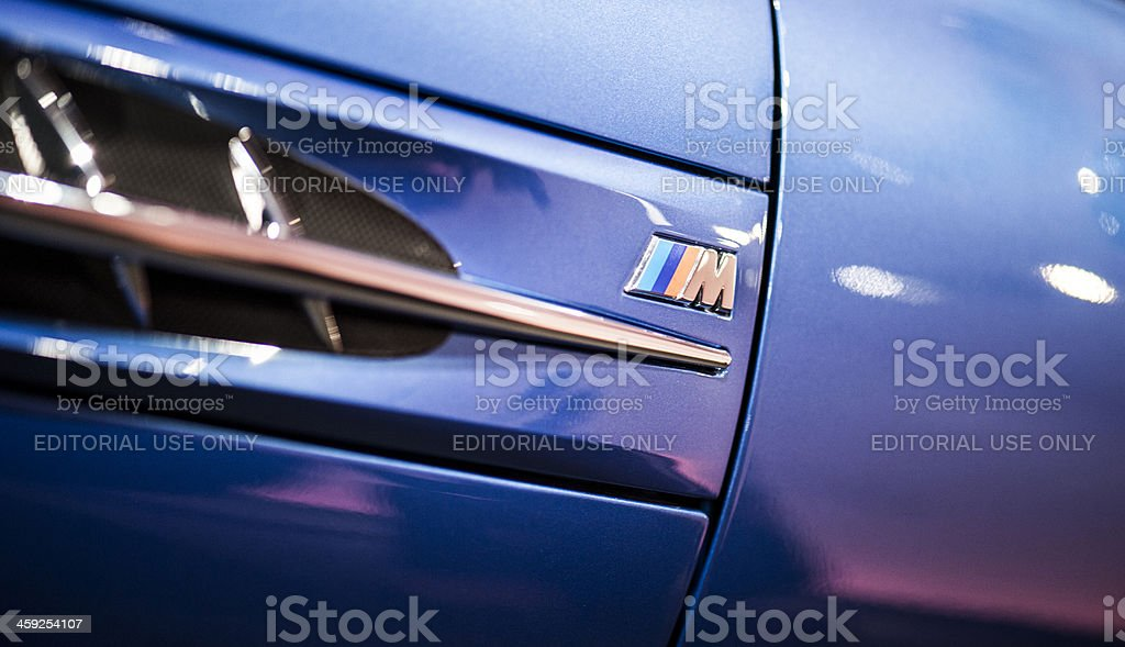 BMW M Chassis royalty-free stock photo