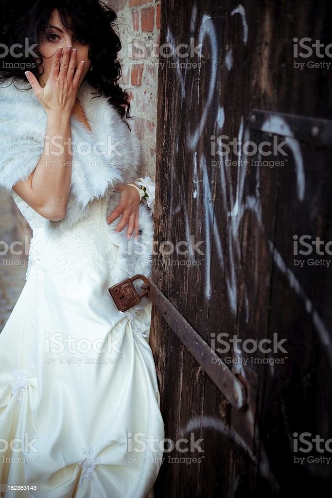 chastity belt? royalty-free stock photo