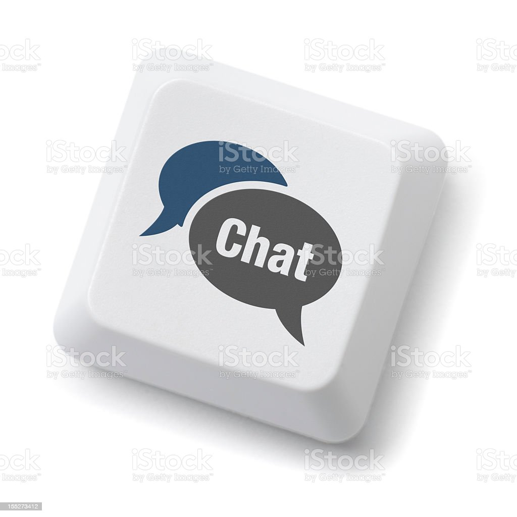 Chat stock photo