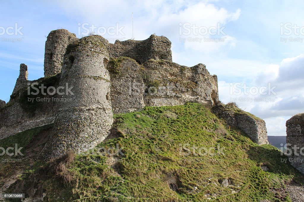 Chateau Arques-le Bataille stock photo