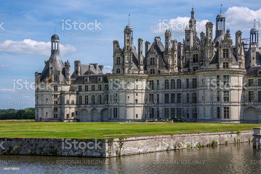 Chateau Chambord - Liore Valley - France stock photo