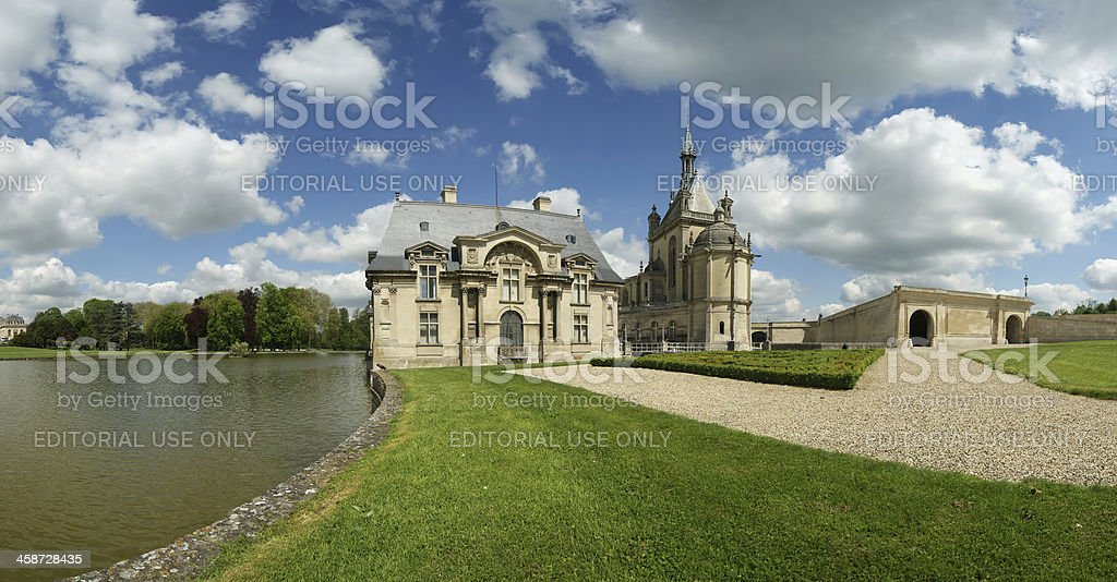 Chateau de Chantilly , Oise, Picardie, France stock photo
