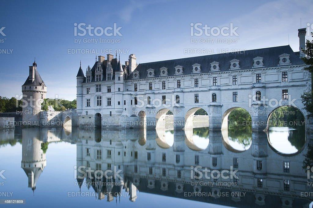 Chateau de Chenonceau, Loire Valley stock photo