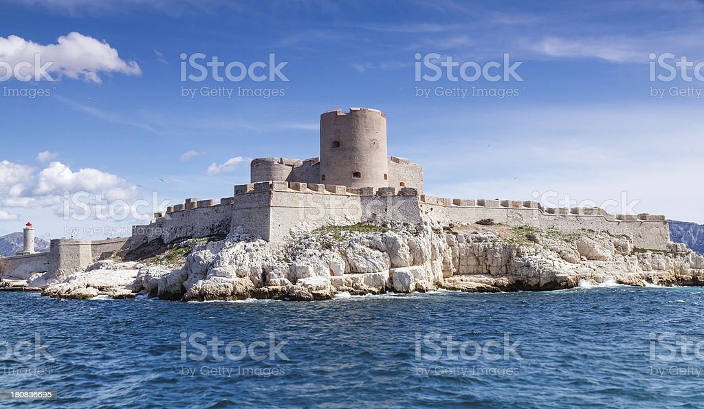 Chateau d'If stock photo