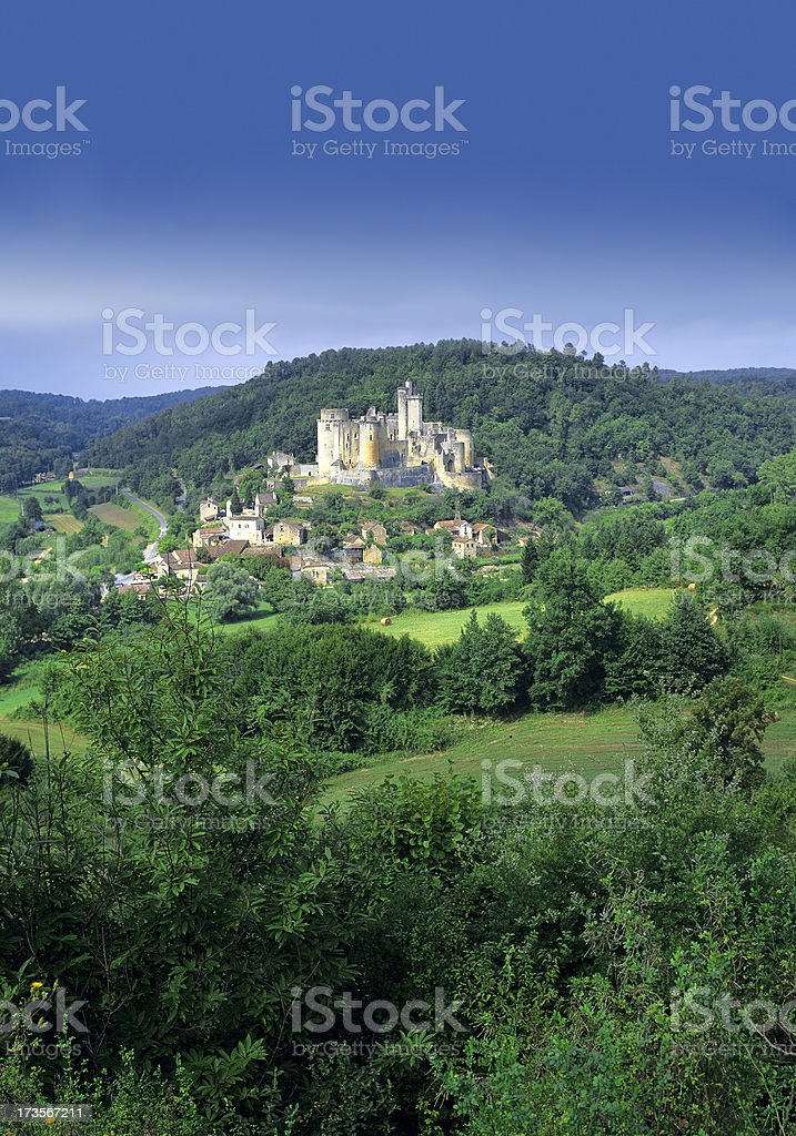 chateau royalty-free stock photo