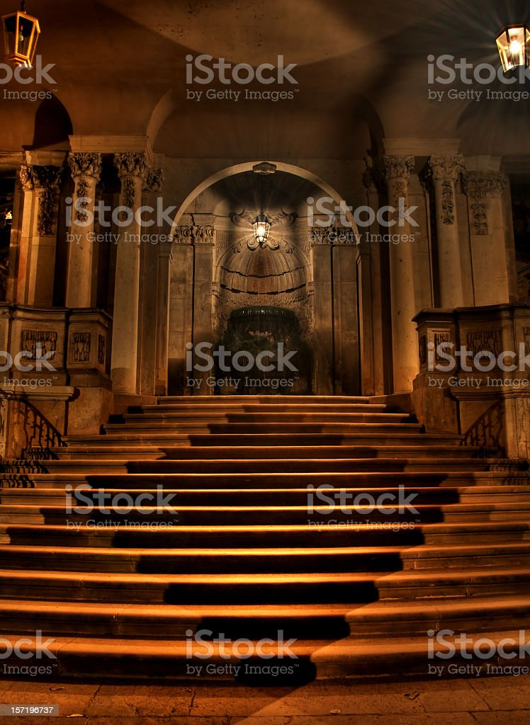 Chateau - Der Zwinger Dresden stock photo