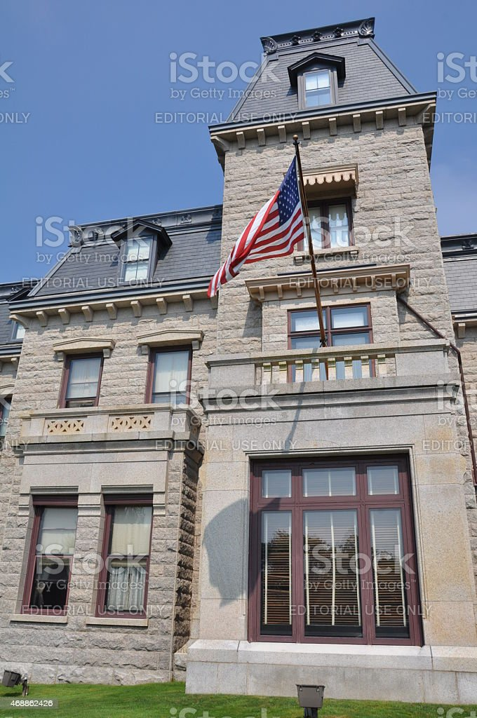 Chateau-sur-Mer in Newport, Rhode Island stock photo