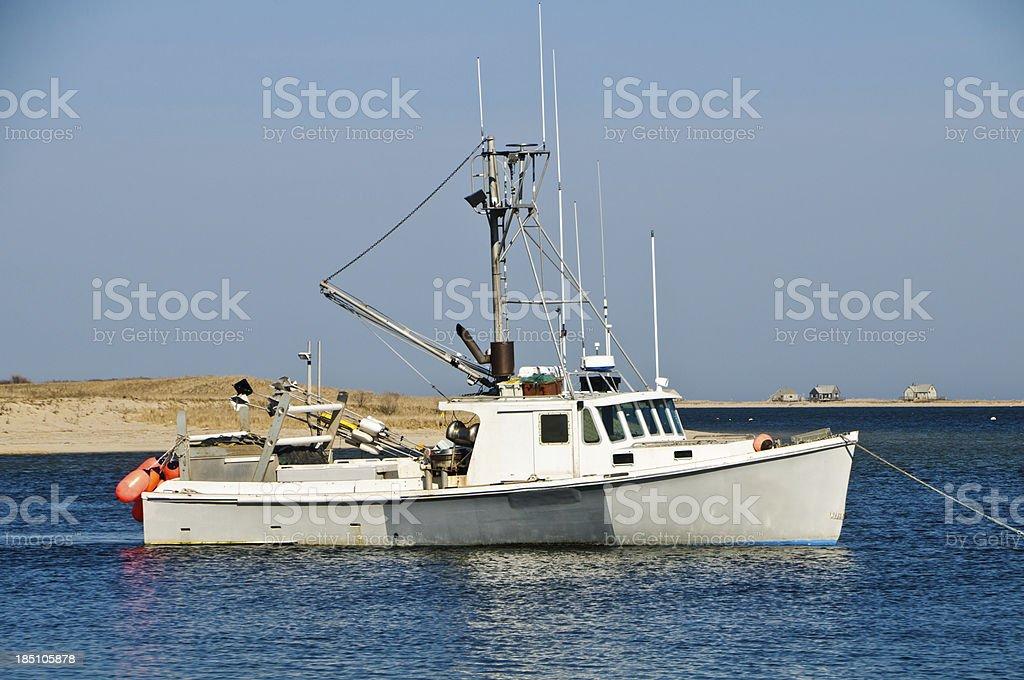 Chatham Fishing Boat stock photo
