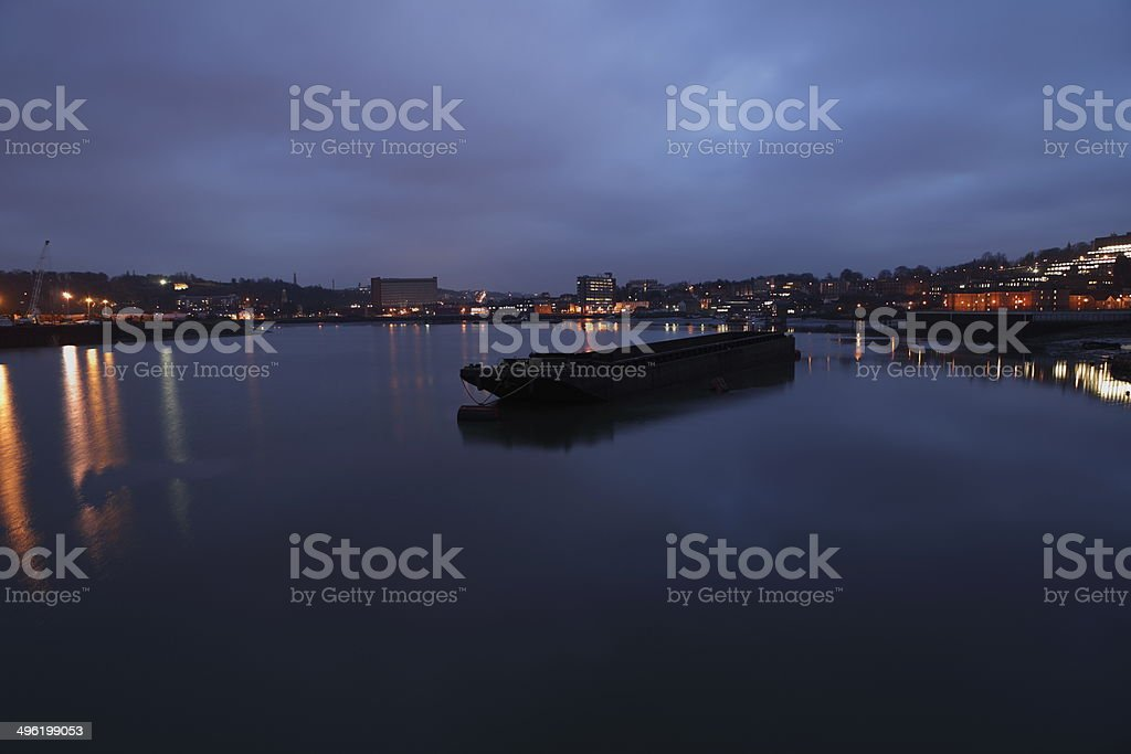 Chatham Harbour stock photo