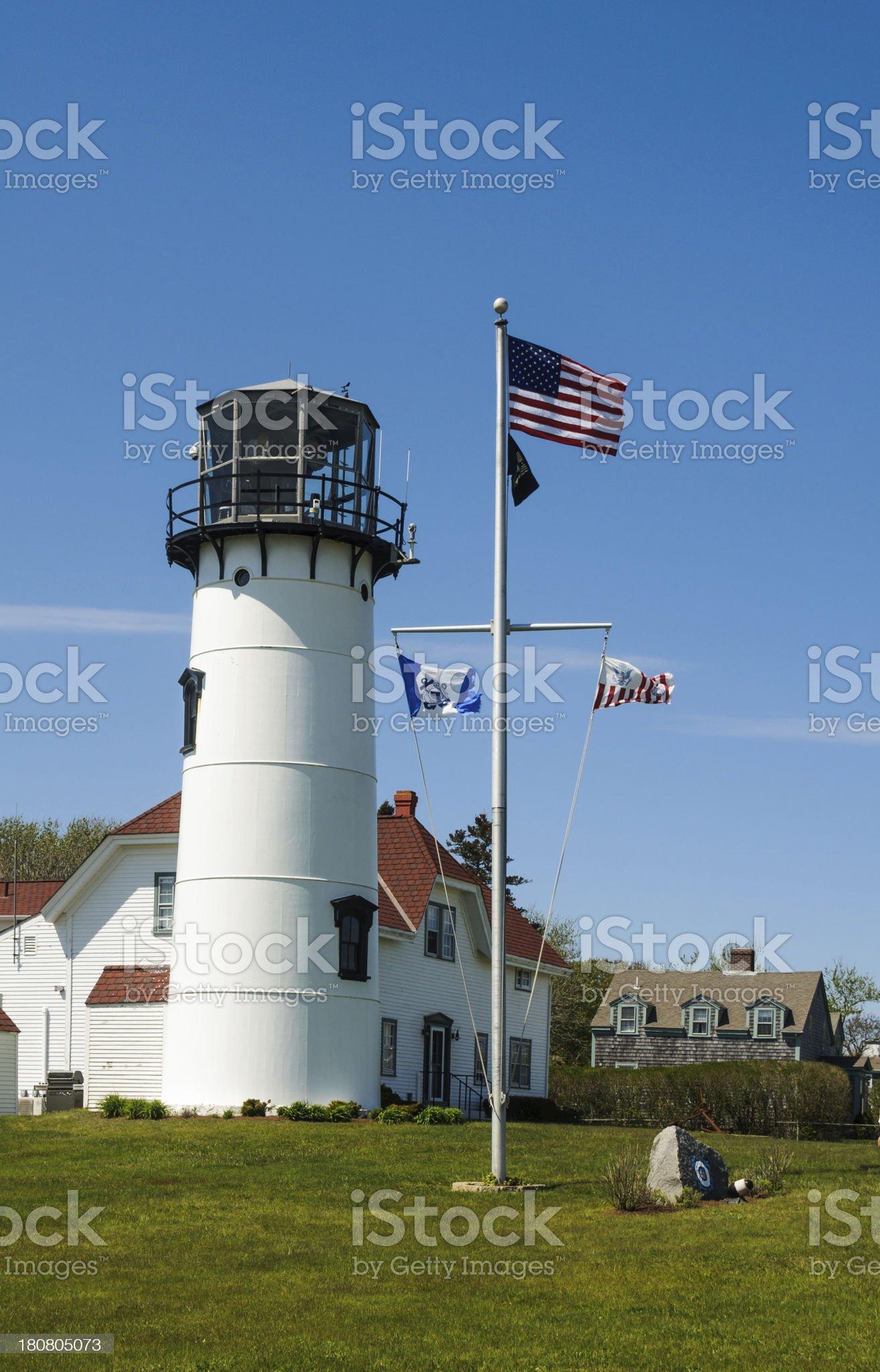 Chatham Lighthouse royalty-free stock photo