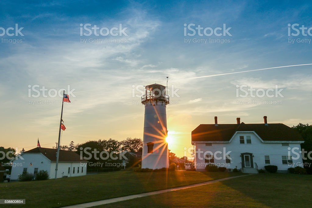 Chatham Lighthouse stock photo