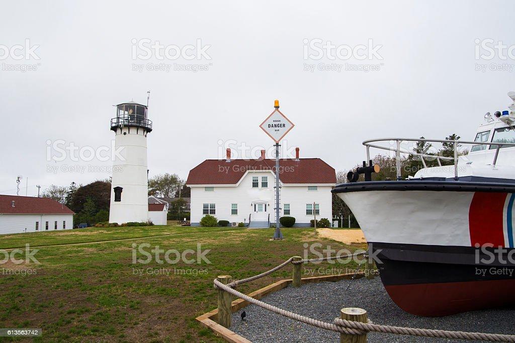 Chatham Lighthouse stock photo