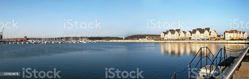 Chatham - St Marys Island view royalty-free stock photo