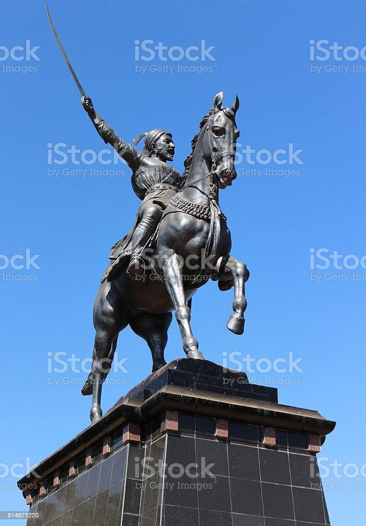 Chatrapati Shivaji Maharaj stock photo