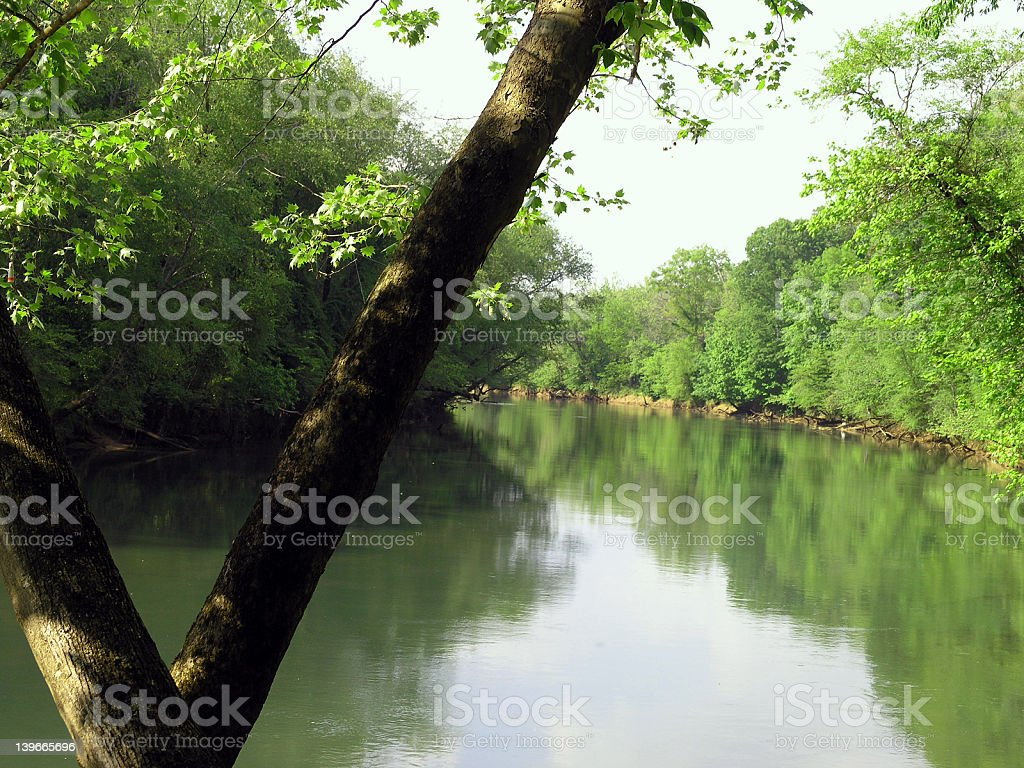 Chattahoochee River royalty-free stock photo