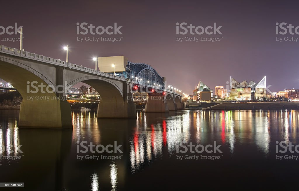 Chattanooga Tennessee royalty-free stock photo