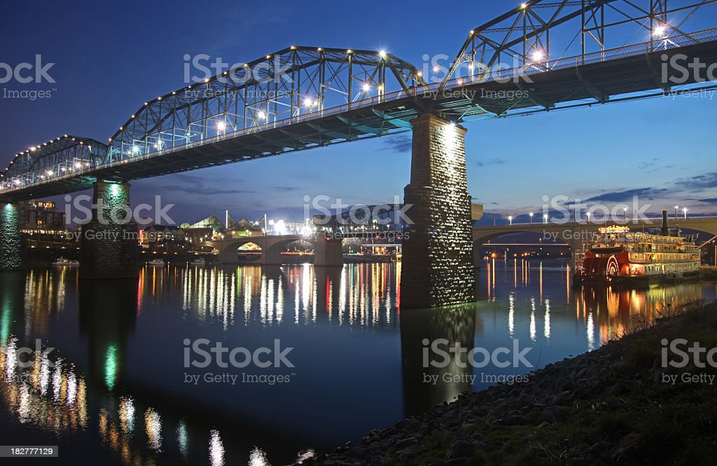Chattanooga, Tennessee stock photo