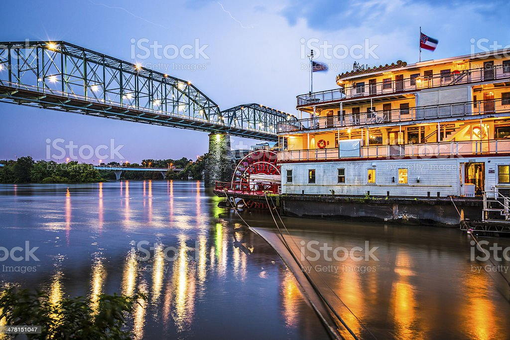 Chattanooga Tennessee stock photo