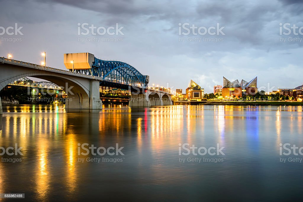 Chattanooga, Tennessee, USA stock photo