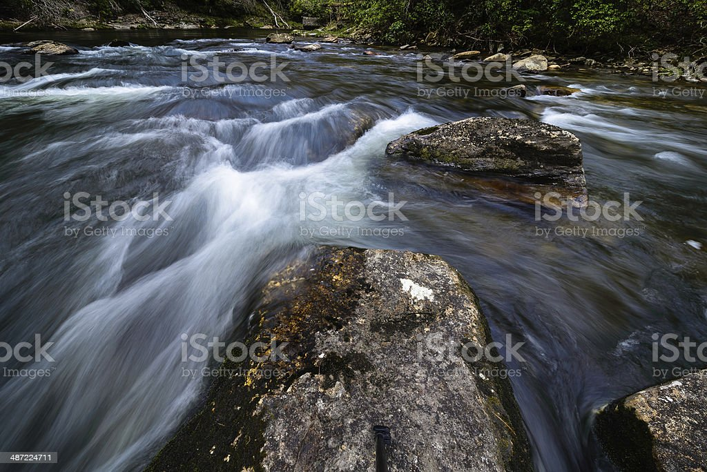 Chattooga River Flow stock photo