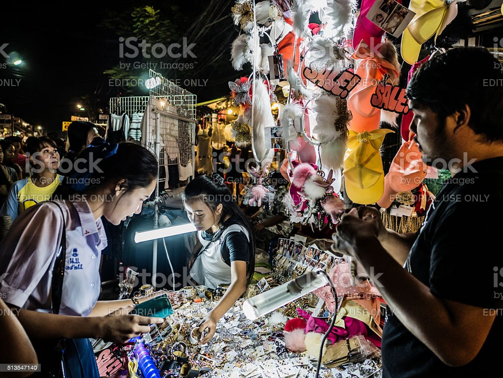 Chatuchak market Bangkok Thailand stock photo