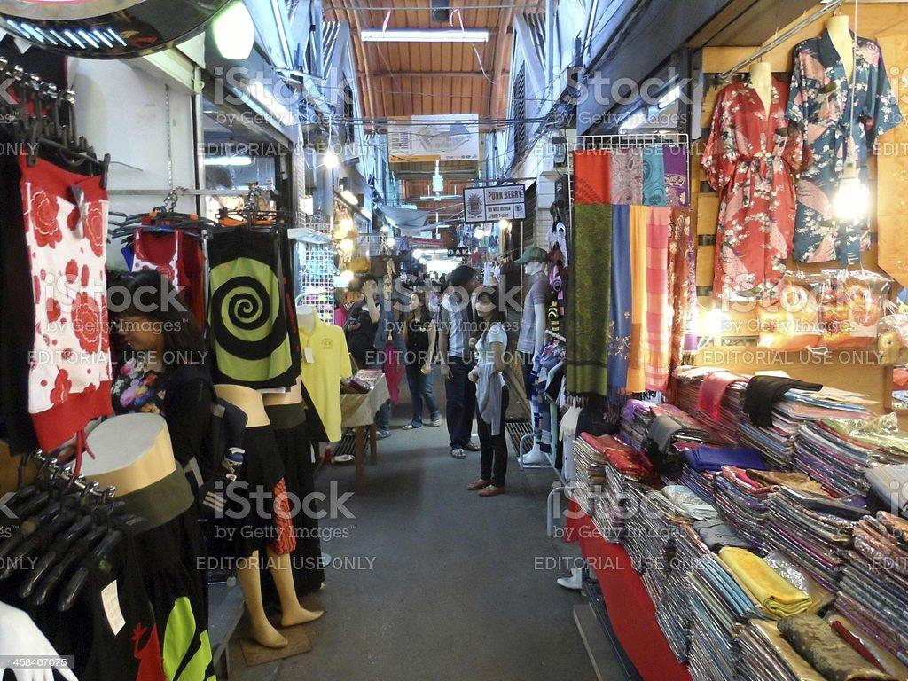 Chatuchak Weekend Market in Bangkok, Thailand royalty-free stock photo