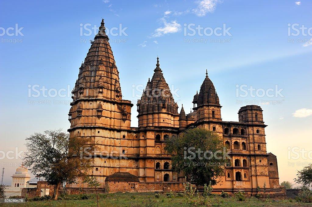 Chaturbhuj Temple of Orchha stock photo