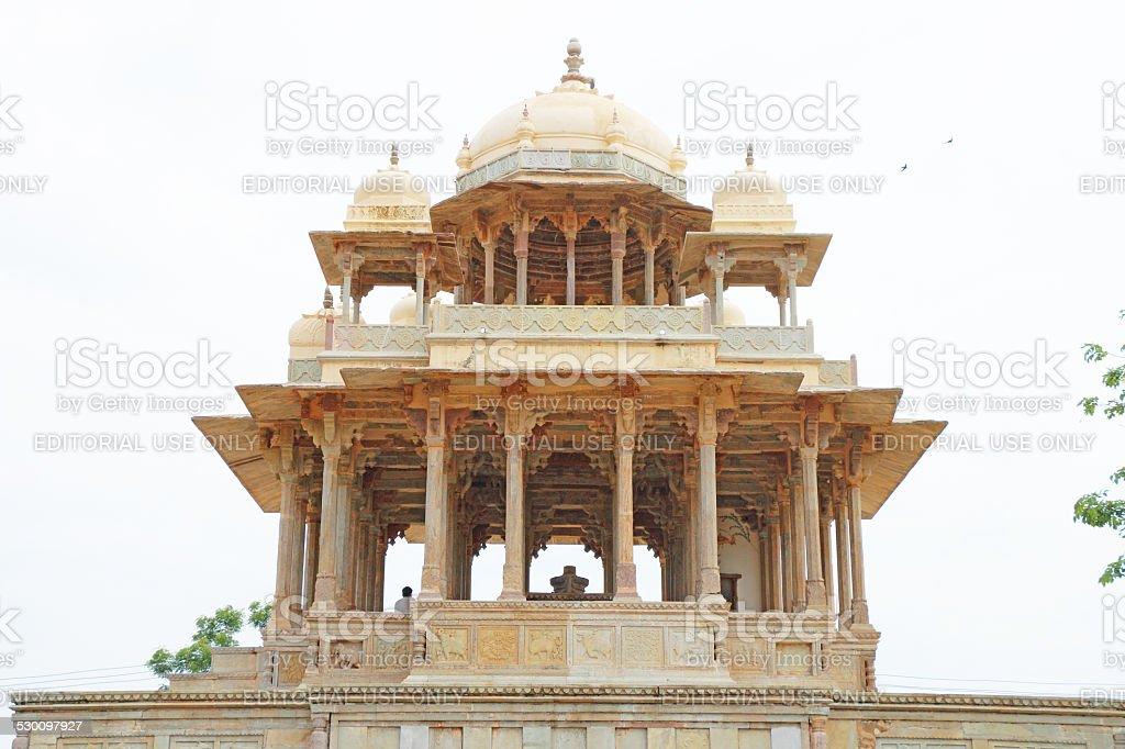 Chaurasi Khambon ki Chhatri 84-Pillared Cenotaph bundi india stock photo
