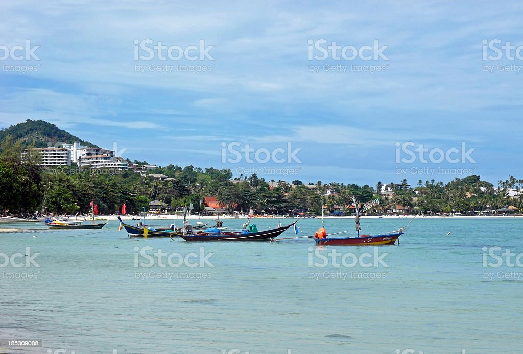 Chaweng beach royalty-free stock photo