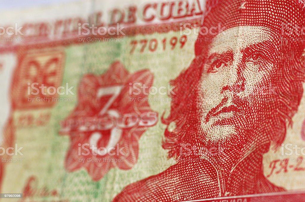 Che Guevara Cuba banknote stock photo
