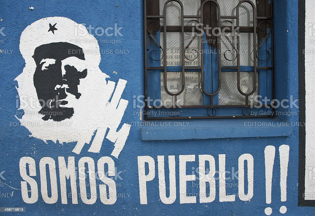 Che Guevara In Bolivia stock photo