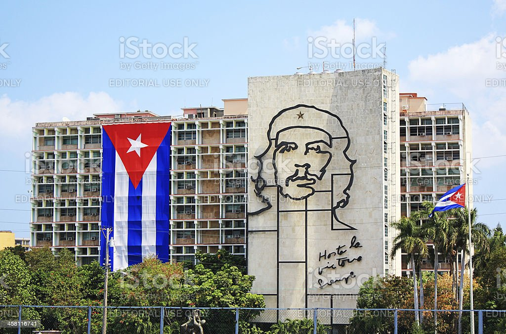 Che Guevara in Havana, Cuba stock photo