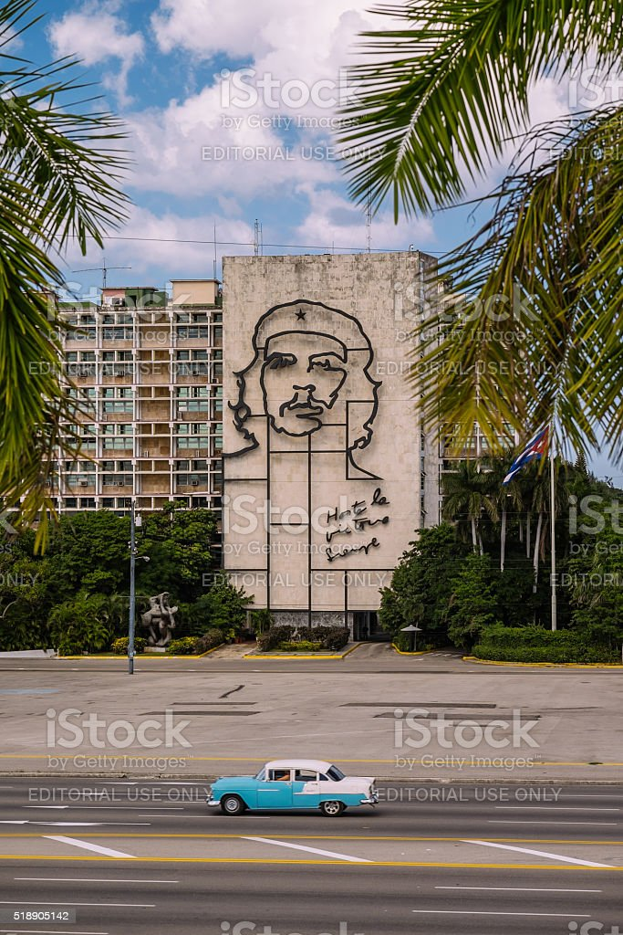 Che Guevara in Havana, Cuba stock photo