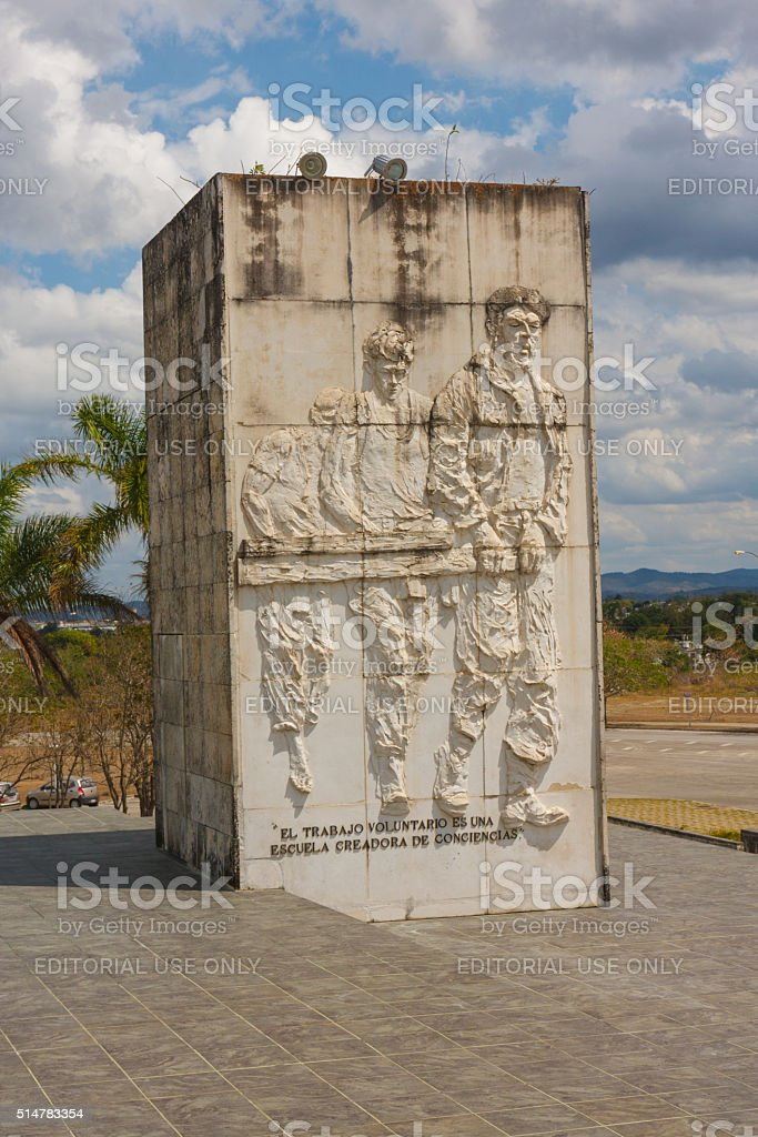 Che Guevara Mausoleum in Santa Clara stock photo