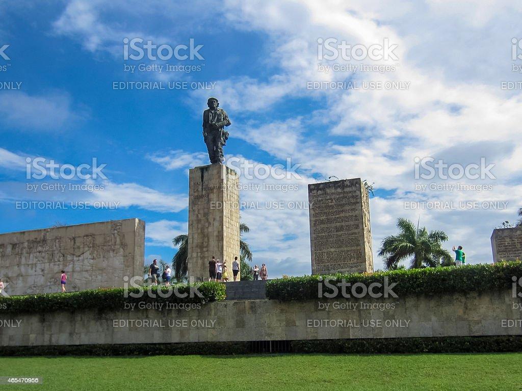 Che Guevara Mausoleum stock photo